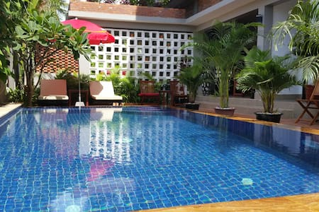 Angkor Beauty Boutique-family room free pick up - Krong Siem Reap