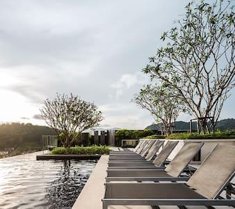 New room at Luxury Condo, The Base Height Phuket - Phuket - Lyxvåning