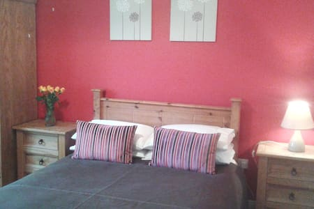 Quiet & spacious double bedroom - Tuam - House