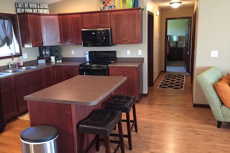 Entire condo to yourself! - Sioux Falls - Apartamento