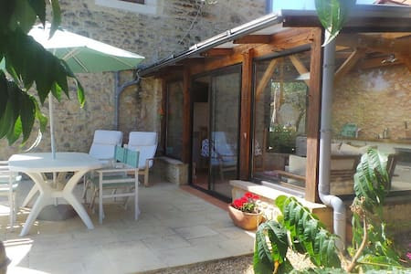 Chez Mondy with Hot Tub & Pool - Bungalo