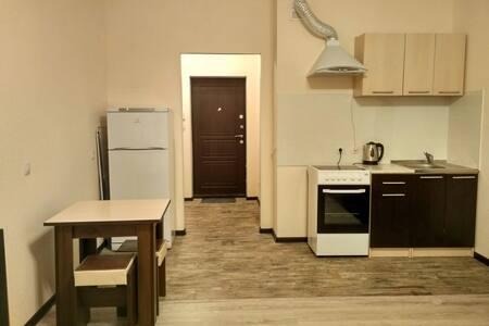 Евро-студия в ЭКО-доме - Sankt-Peterburg - Apartment
