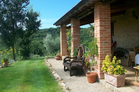 Whole umbrian villa with panoramic views - Villa