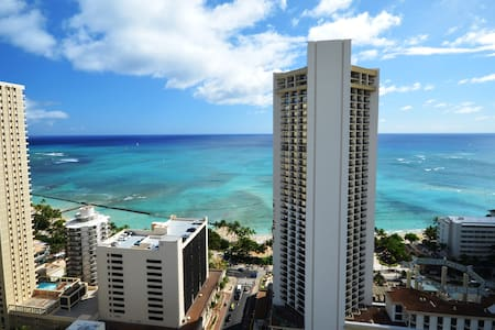 PM2004 AMAZING Views, roof-top Pool - Honolulu - Apartment