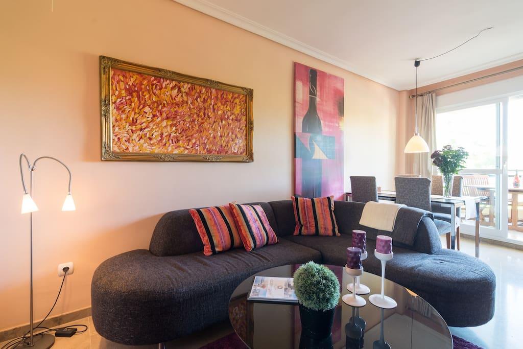 Modern apartment in Torremolinos