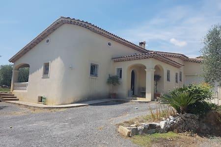 Splendide maison située entre mer et montagne - Carros - Villa