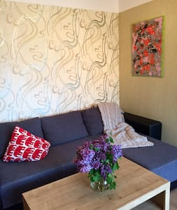 Comfy and calm apartment w parking - Wohnung