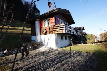 kleines Ferienhaus oberhalb Ebnat-Kappel - Ebnat-Kappel - Casa
