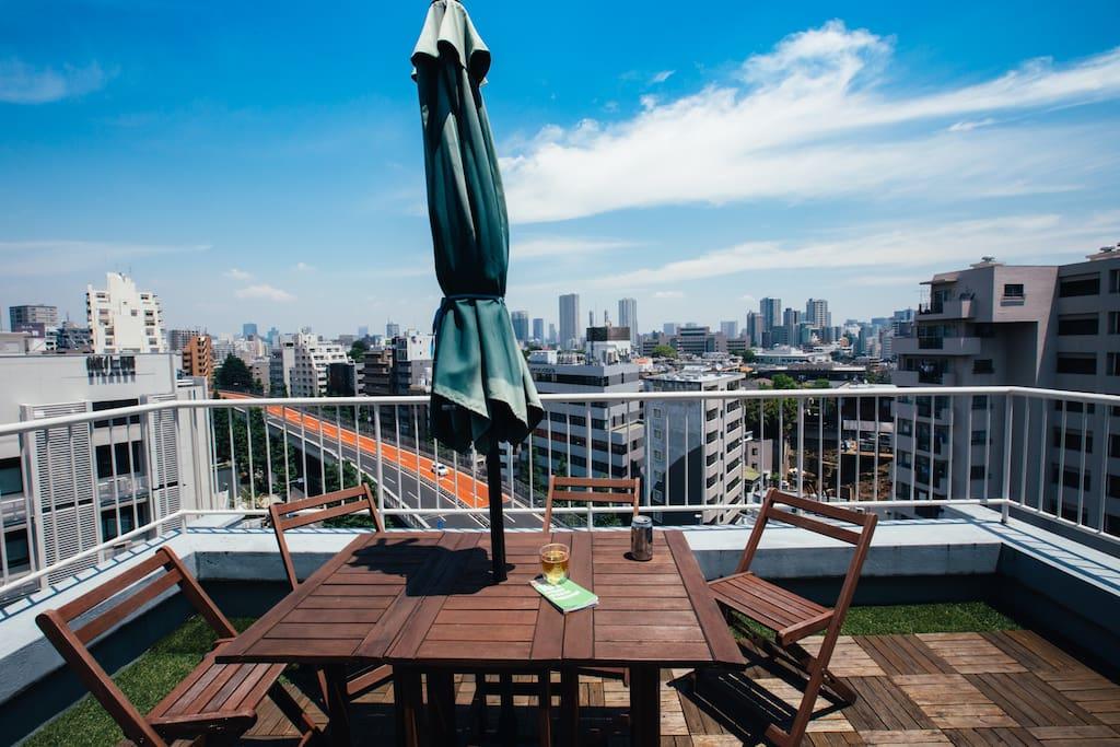 5min to Shibuya, Penthouse King Bed