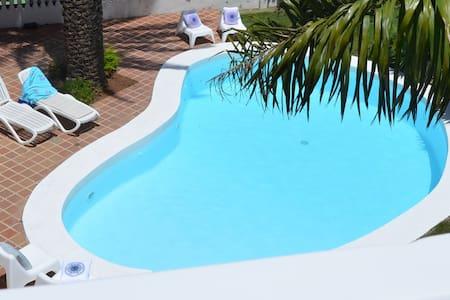 Estudio independiente. ¡Disfruta de la piscina! - Santa Cruz de Tenerife - Appartement
