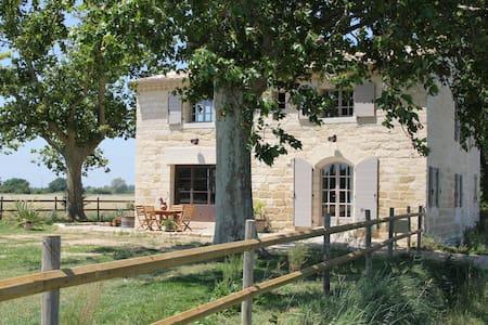 Le mazet de Jean en Camargue (petit bois) - Le Cailar - Ev