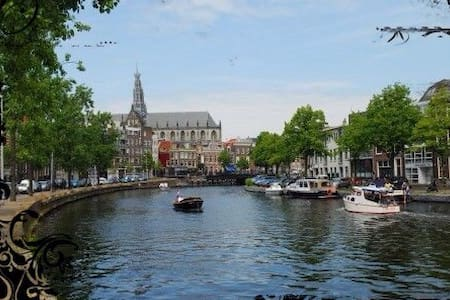 Open a studio nearby Amsterdam !!! - Haarlem - Ház
