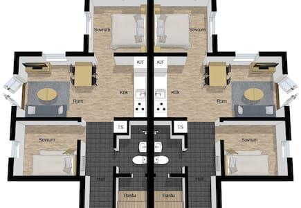 Vargen 18A och 18B - House