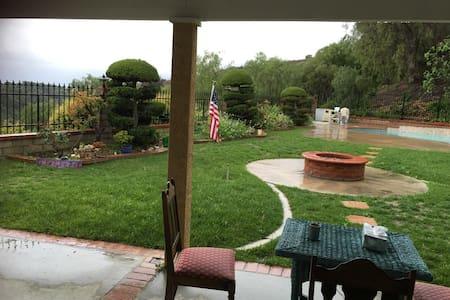 绝佳好位置/清净好住处/热情好房东/好莱坞拍电影场地 - Hacienda Heights - 住宿加早餐