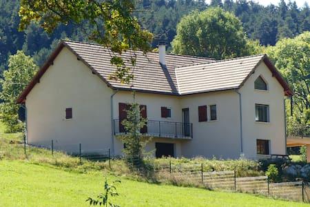 Large 4 Bedroom Detached House with Stunning Views - Lus-la-Croix-Haute - Haus