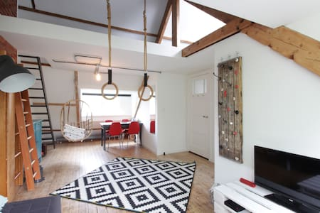 Cosy private loft apartment - Tilburg - Lakás