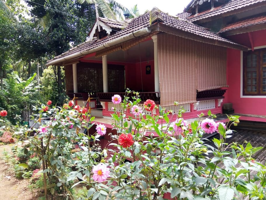 Front side of homestay