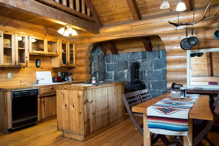*Cozy Log Cabin* with Mt. Hood view - Rhododendron - Casa
