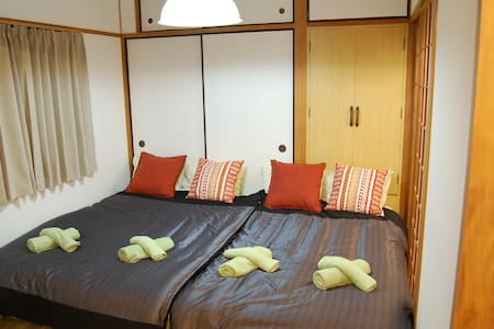 For travel/perfect access/central of city/7people - Hiroshima-shi - Apartment