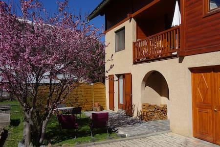 Appartement rez jardin  Ceillac - Wohnung