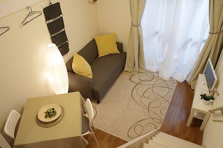 {NEW} Modern Japanese Apt Living, 15mins Tokyo - Lägenhet