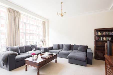Family-friendly High St Ken flat - London - Lejlighed