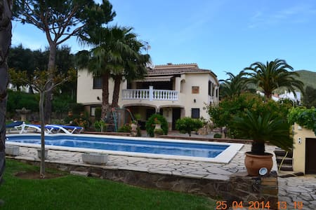 Belle villa avec piscine a 10 min de la mer - Calonge - Villa