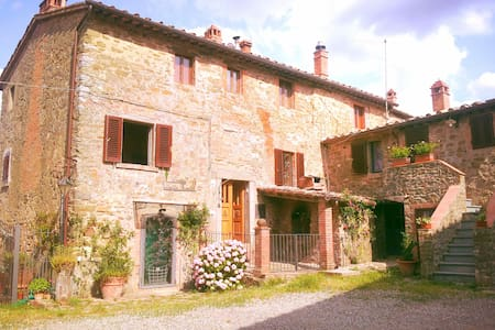 Toscana, Chianti con Jacuzzi, Florence, Siena 6pax - Haus