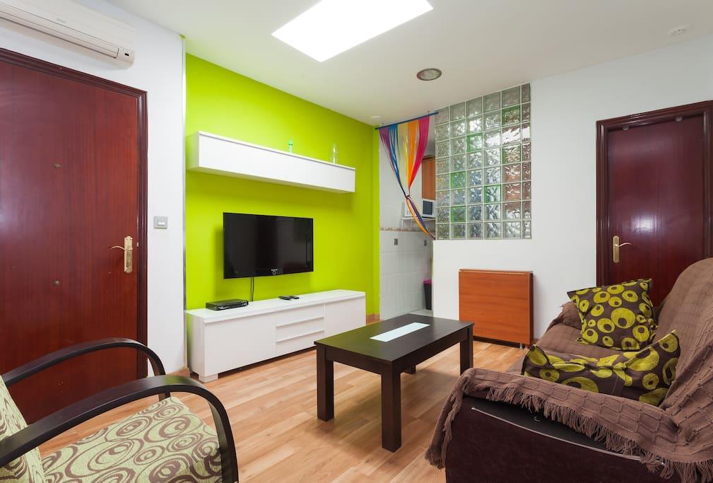 Habitación privada  en centro.WIFI
