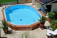 FeWohnung m. Pool  Preis für 2 Pers