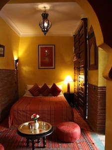 Riad: The cute Berber Room