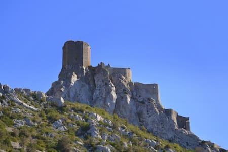 Calm, Comfort & Cathar Castles - Cucugnan - Daire
