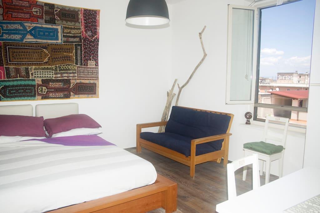 Stanza grande matrimoniale - one large bedroom