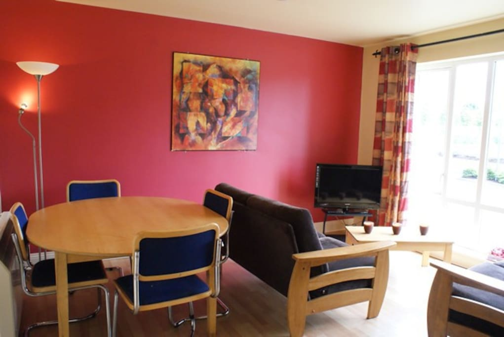 Glasan Holiday Village Apartment Lounge/Dining Area