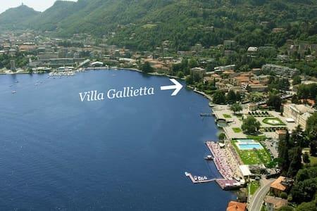 Lakefront Attic Apt in Luxury Villa - Como