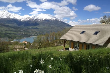 In Greenary Cottage  lake view - Pontis - Chalet