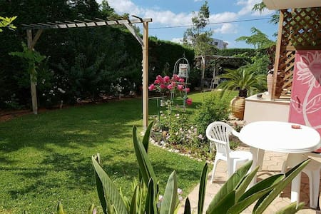 modern sunny flat and happy garden - House