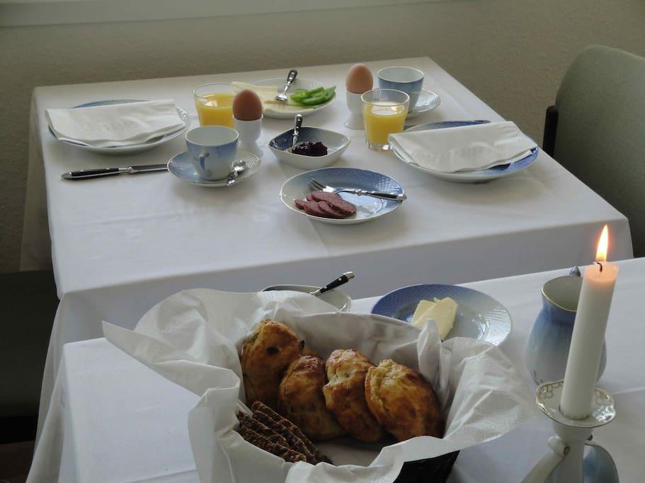 Danish breakfast