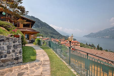 Casa Greta: Bellagio, como lake, and Grigne view - House