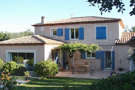 In the heart of the green Provence - Forcalqueiret - House