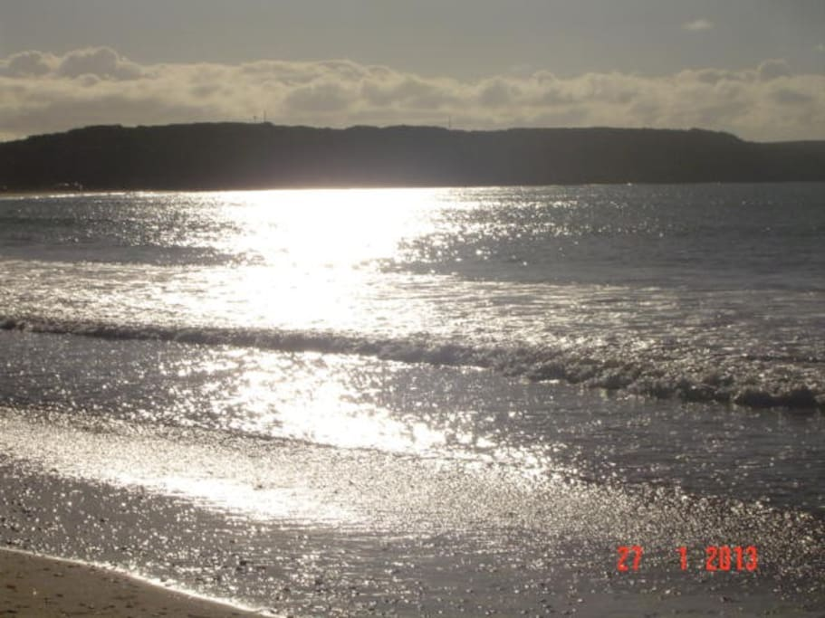 Beautiful Rivoli Bay.