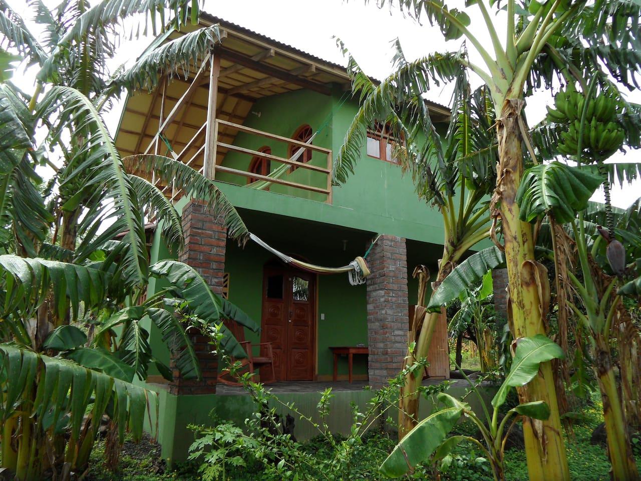 Casa Verde, mamacita's veranda and papacito's balcony