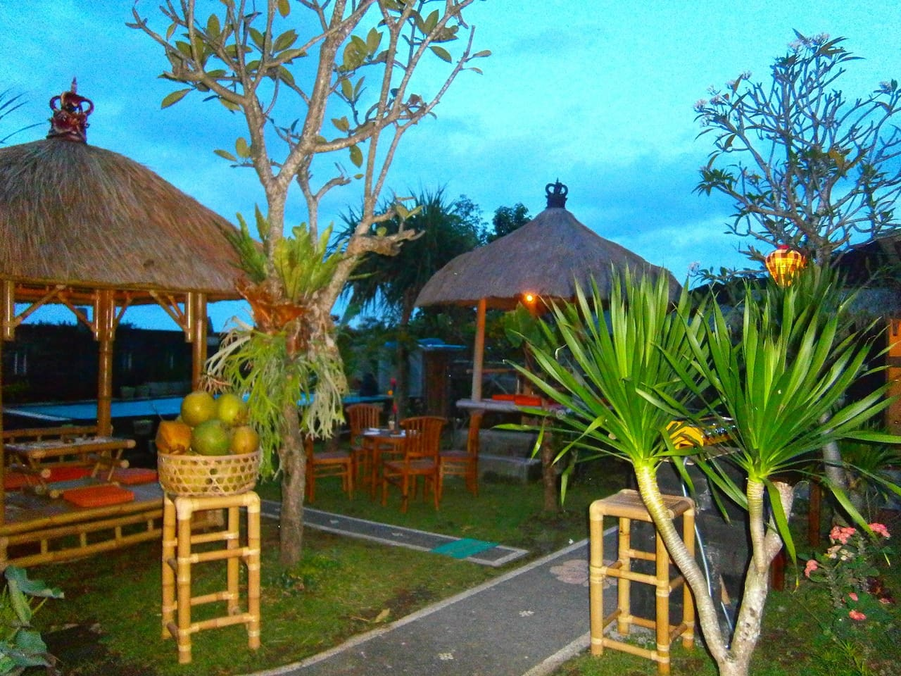 Sunset at the Djoyo Bed & Breakfast