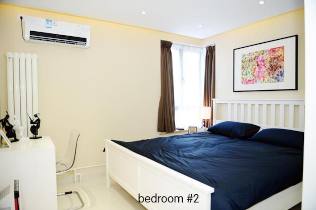 bedroom #2 with King-size bed