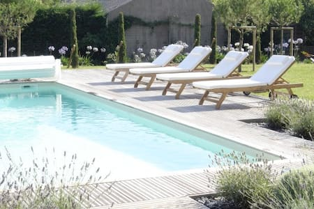 Beautiful house with swimming pool - Saint-Martin-du-Fouilloux - Hus