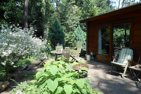 Cool Cozy private lodge in forest - Doornspijk - House
