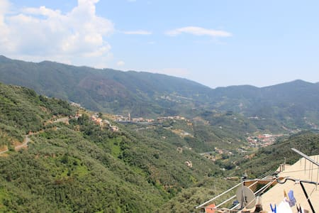 Cinqueterre - Terrace and beautiful view - Lejlighed