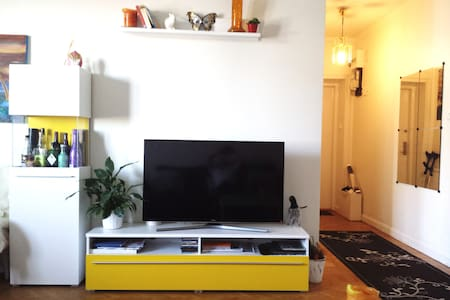 Cosy studio with balcony - Stockholm - Appartement