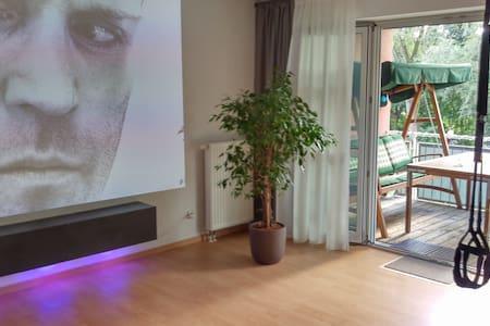 Riverside City Apartment 65m² in Augsburg für 3P - Augsburg