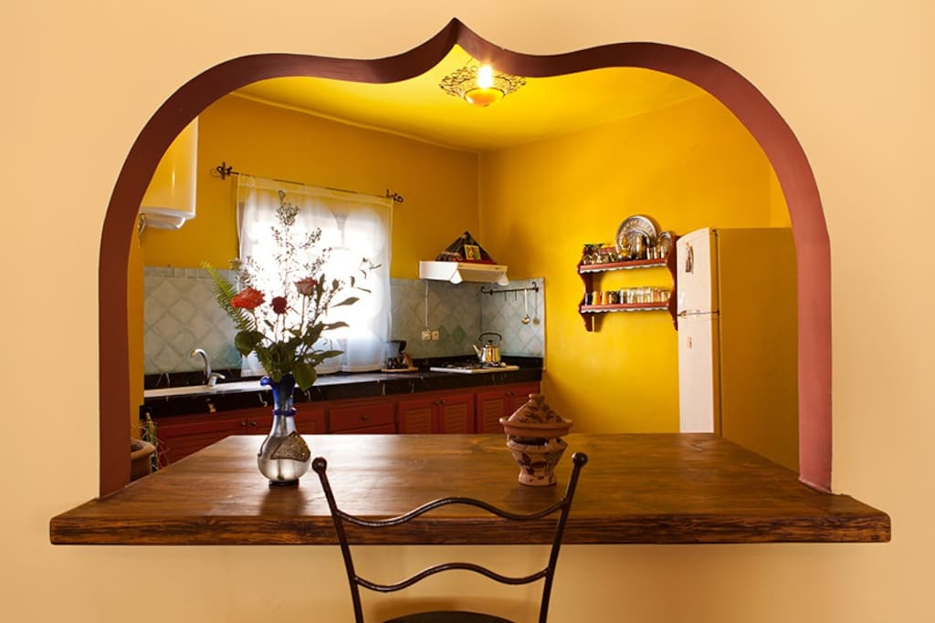 Kitchen apartment first floor